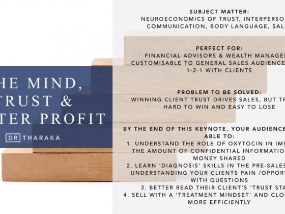 Keynote: The Mind, Trust & Better Profit