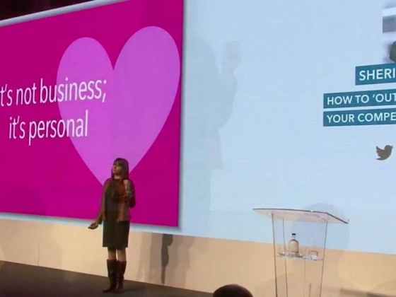 Sheri Fitts Keynote Nucleus Financial Manchester England